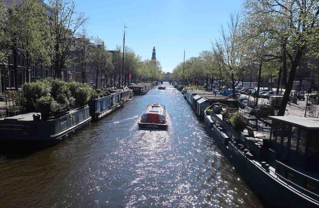 Canals in Amsterdam Prinsengracht Canal Tour