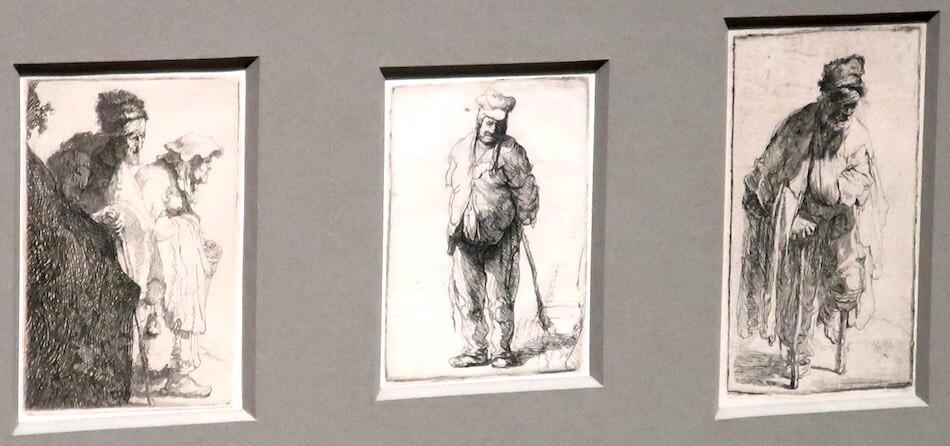 Rembrandt van Rijn etchings