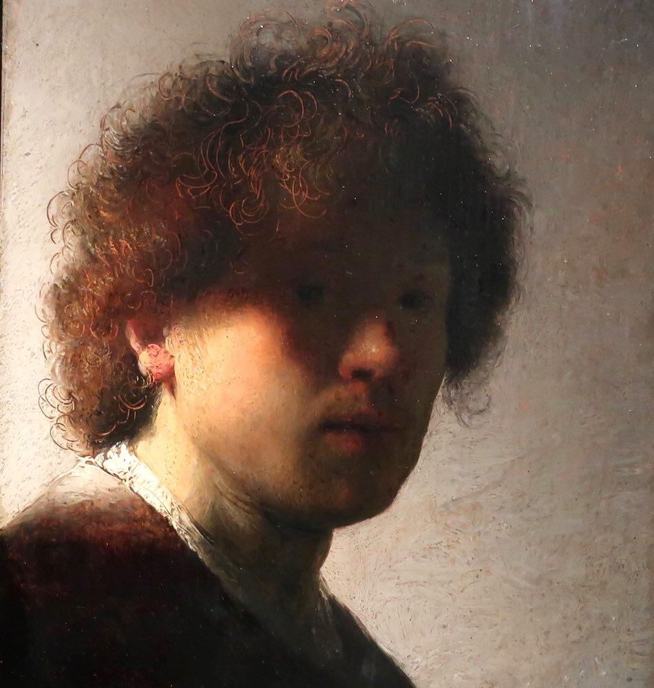 Rembrandt Paintings Self portrait in Amsterdam Museum