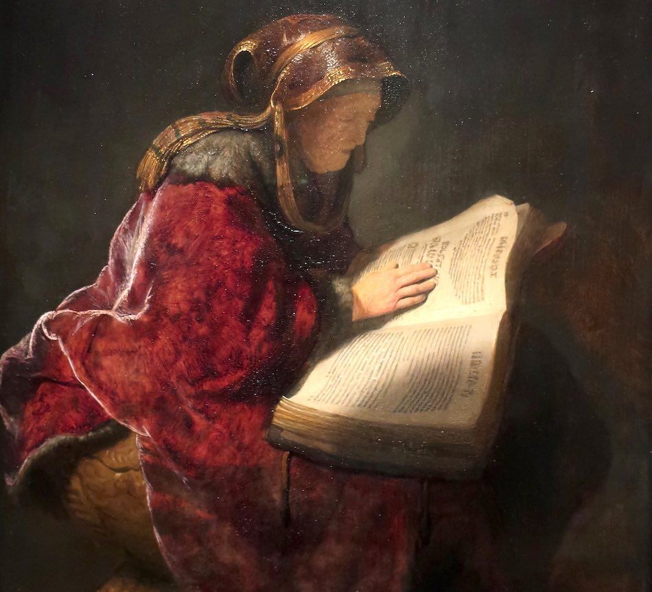 rembrandt paintings woman old