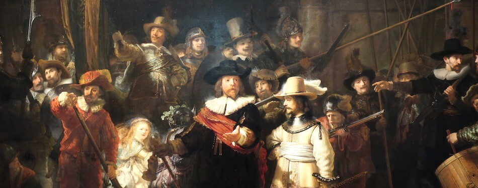 Rijksmuseum Rembrandt's Night Watch.