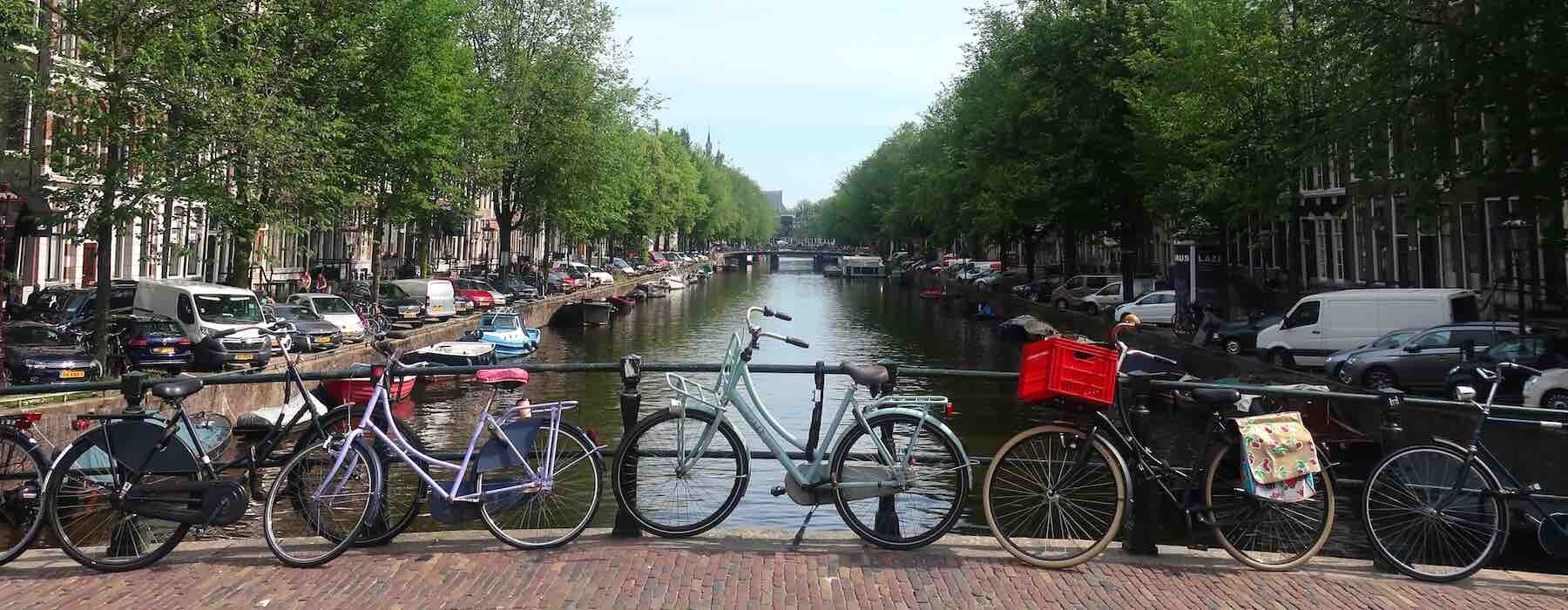 Canal in Holland Netherlands
