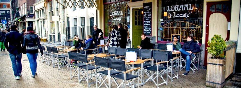 Best Amsterdam beer garden Lokaal t' Loosje