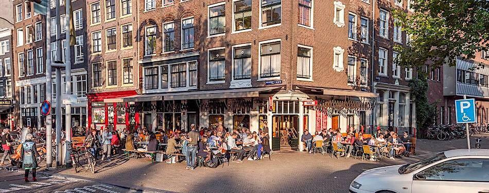 Best Amsterdam beer garden Café Fonteyn