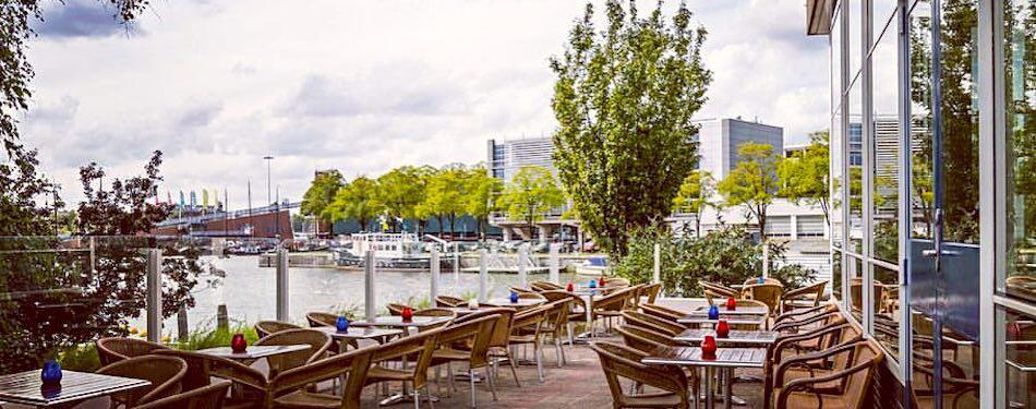 Amsterdam beer garden Pension Homeland.