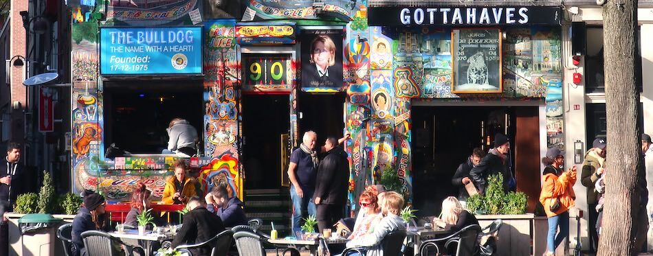 Worst coffeeshops in Amsterdam The Bulldog