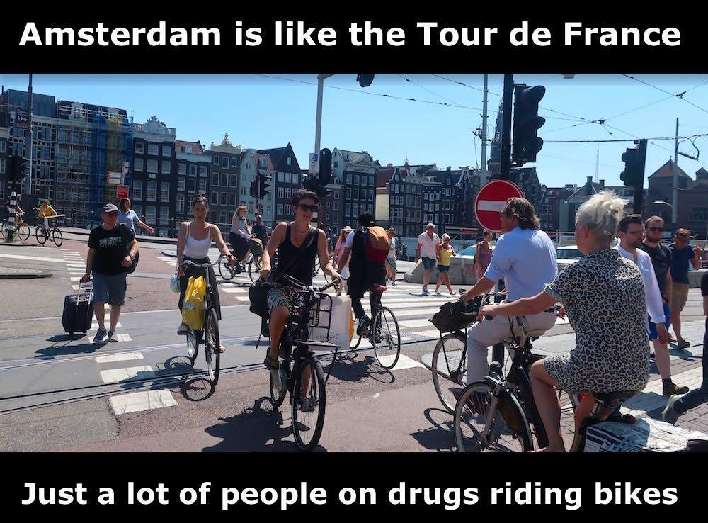 Cycling in Amsterdam Quotes