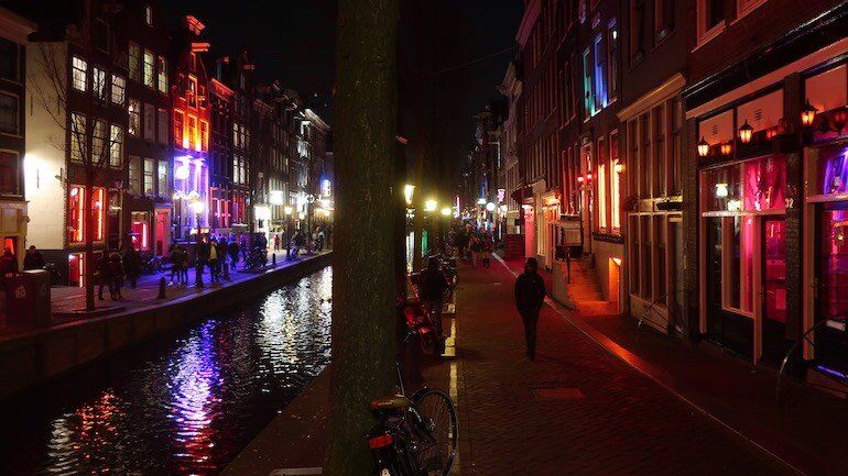 Amsterdam Red Light District Evening Tour