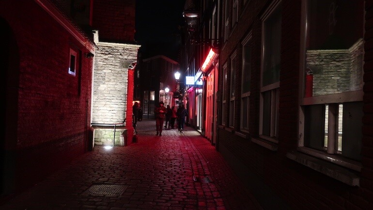 Amsterdam Red Light District private tour