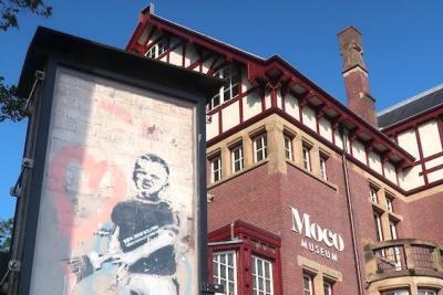 Moco Museum Amsterdam Banksy Heart Boy