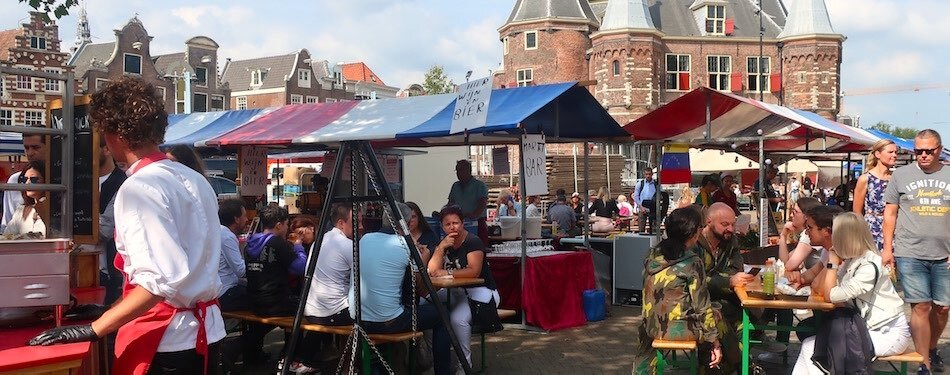 markets in amsterdam city centre