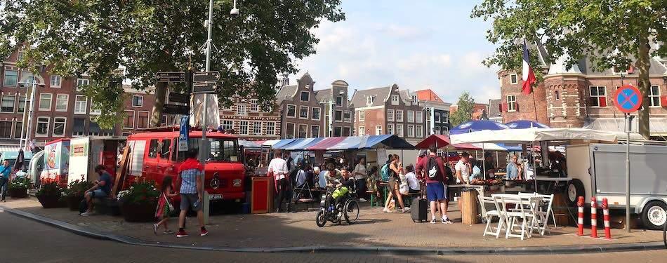 Amsterdam bio street market