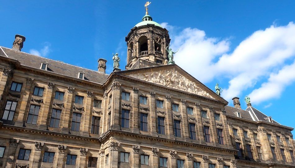 Royal Palace Amsterdam Dutch