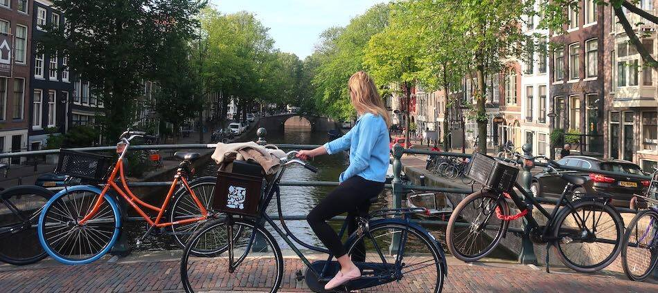 bicycle rules in Amsterdam