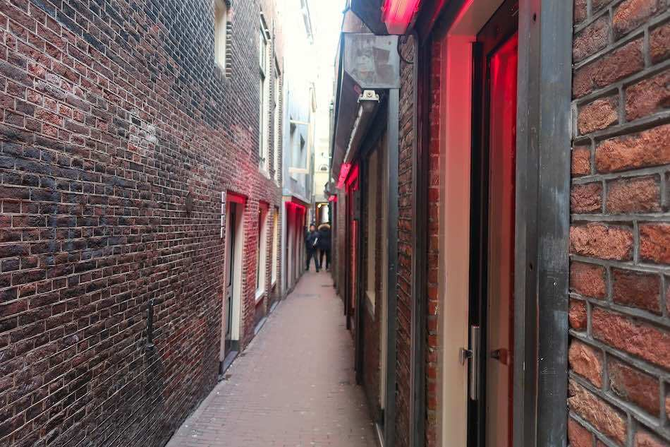 Amsterdam alley brothel