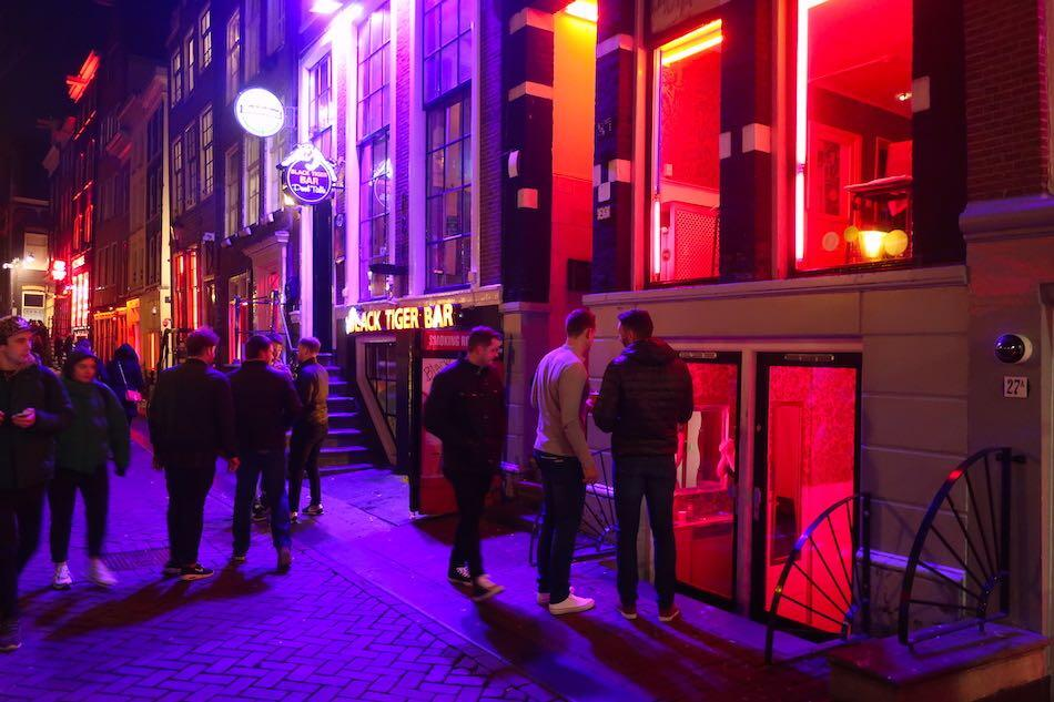 Amsterdam Red Light District pictures