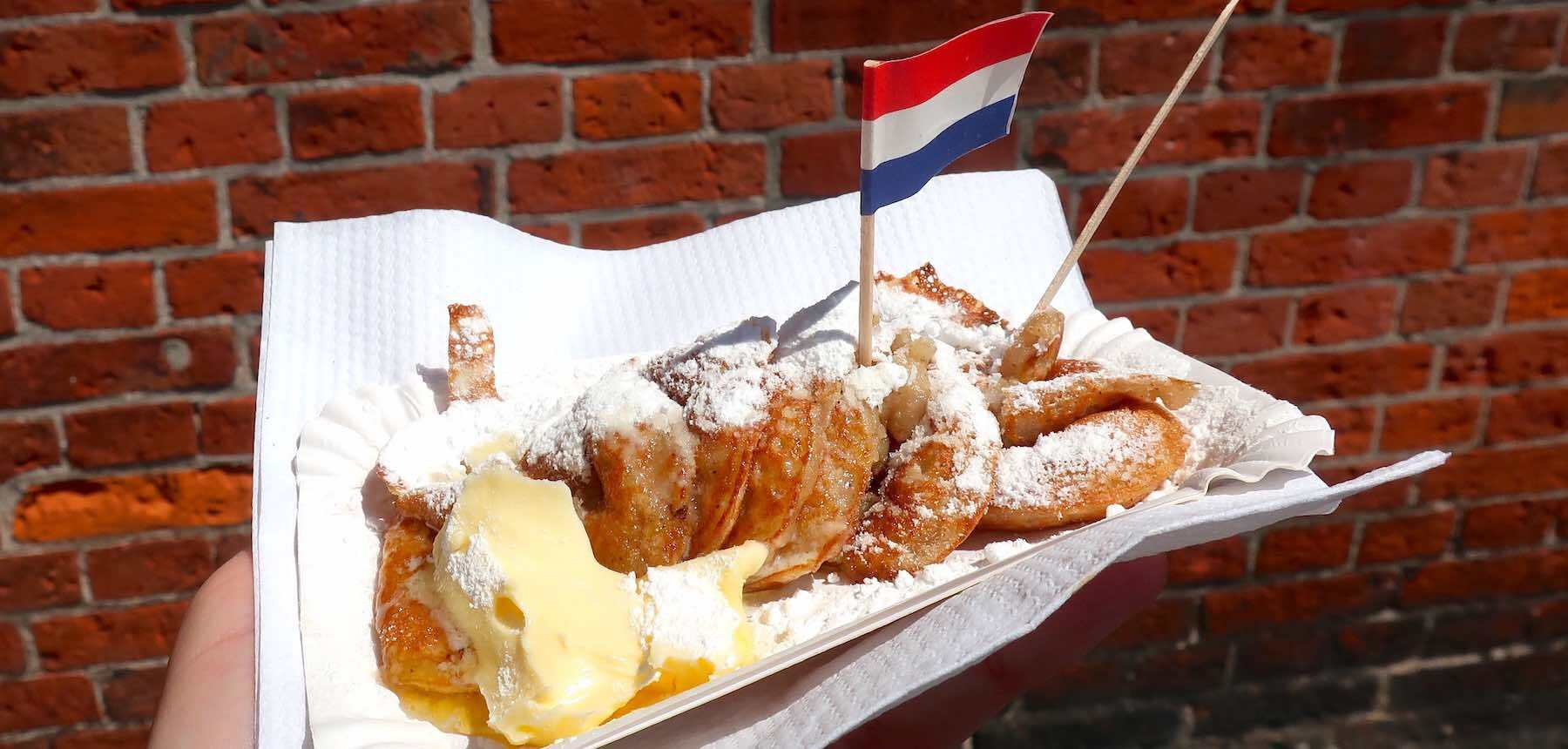 Dutch Snacks to Try Poffertjes