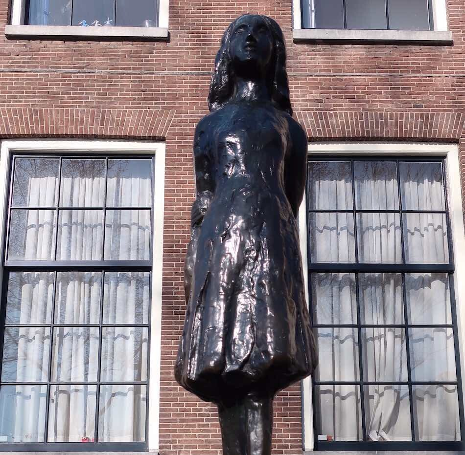 Amsterdam history facts Anne Frank