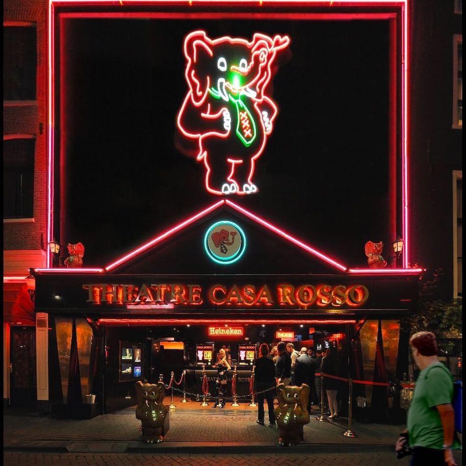 Casa Rosso Amsterdam Ticket