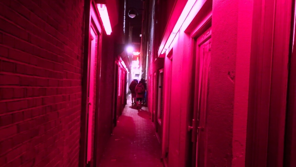 Amsterdam Red Light District images