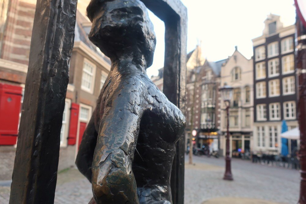 Amsterdam red light district tour