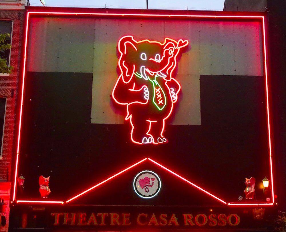 casa rosso amsterdam sex show