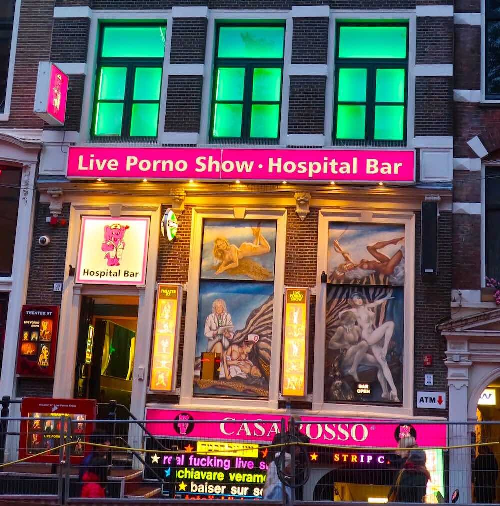 sex show in amsterdam