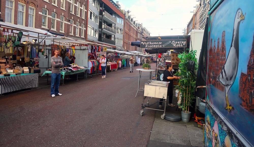 Free must see in Amsterdam Albert Cuyp markt