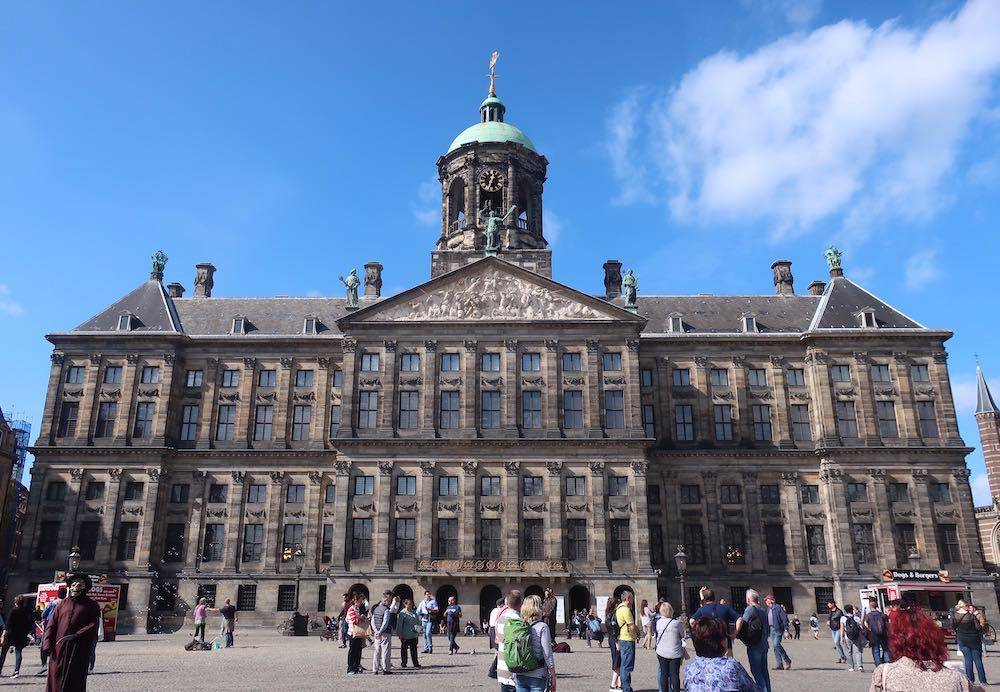 Amsterdam Royal Palace Dam Square