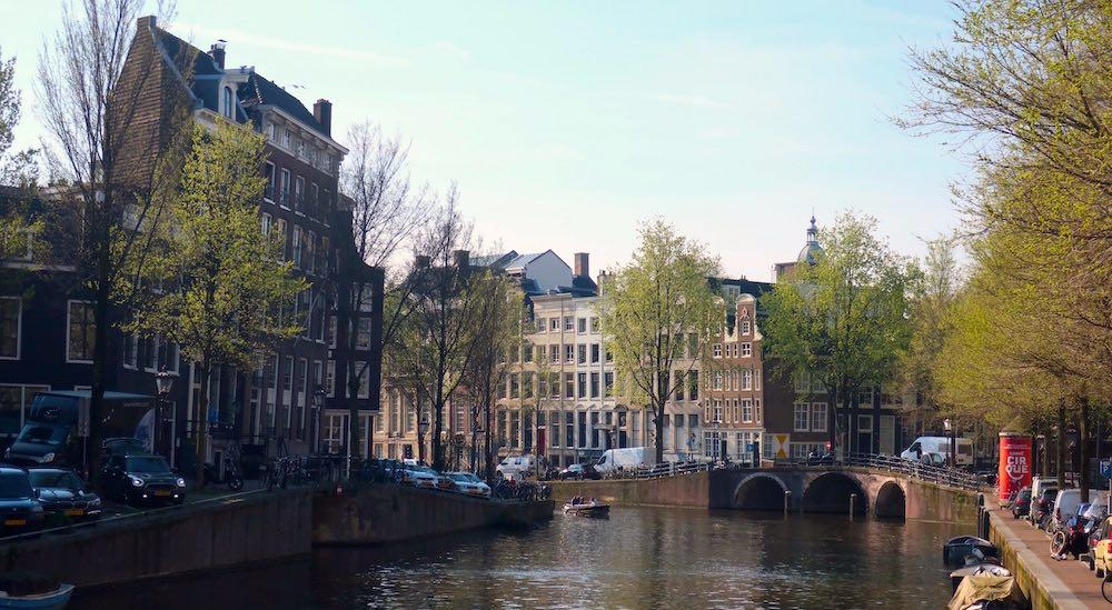 Was Amsterdam bombed in WWII