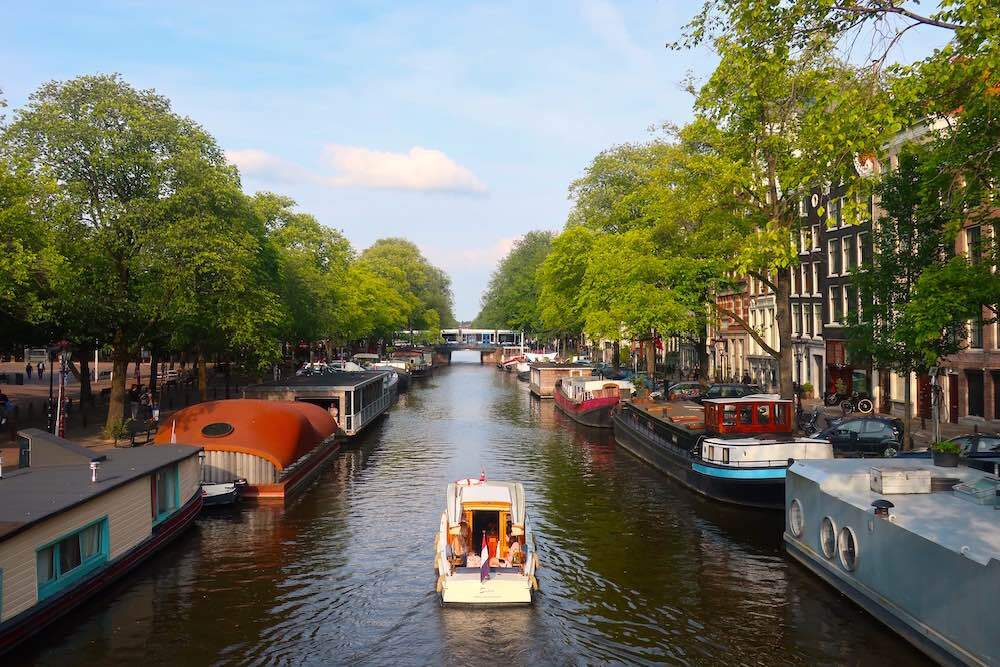 free walking tour in Amsterdam