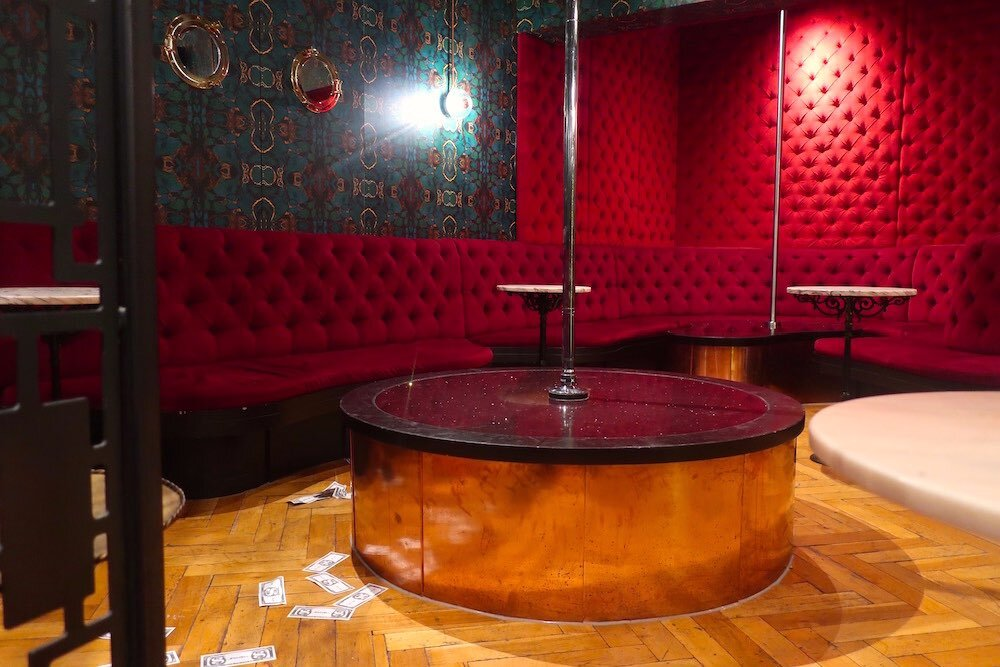 Strip club BonTon Amsterdam