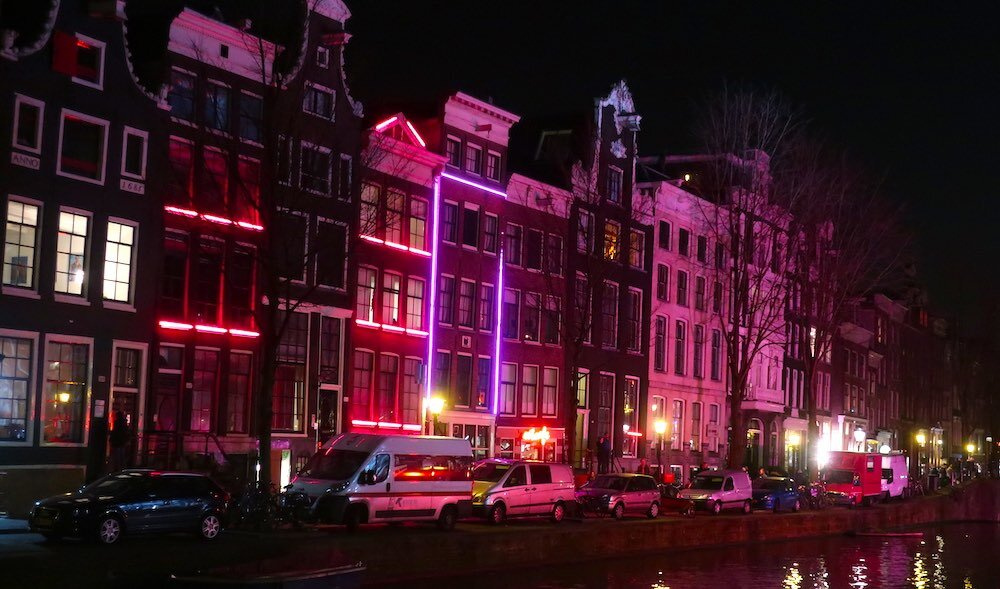 amsterdam street red light station