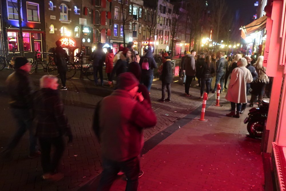 amsterdam's finest red light district