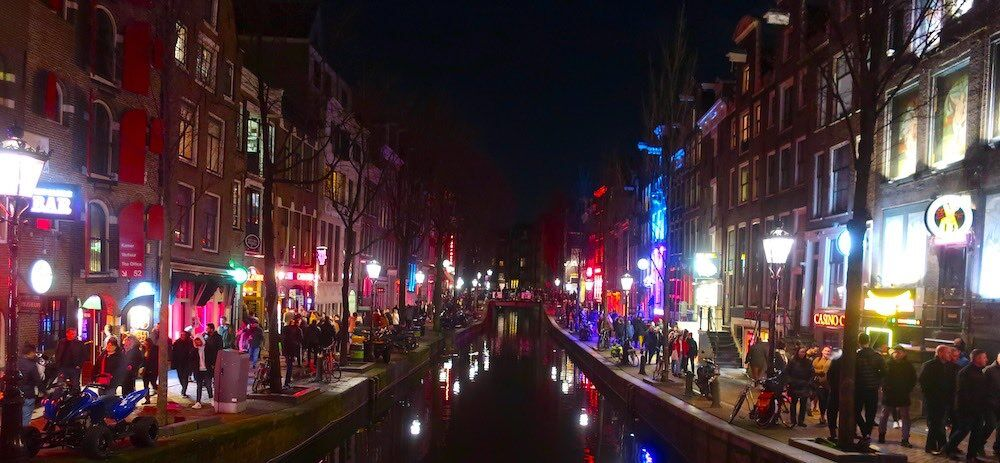 the amsterdam red light city