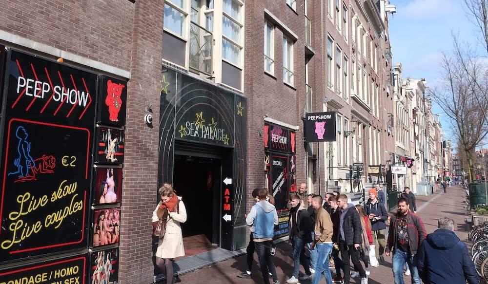 amsterdam sex show