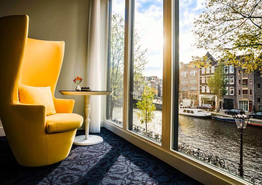 amazing hotels in amsterdam central